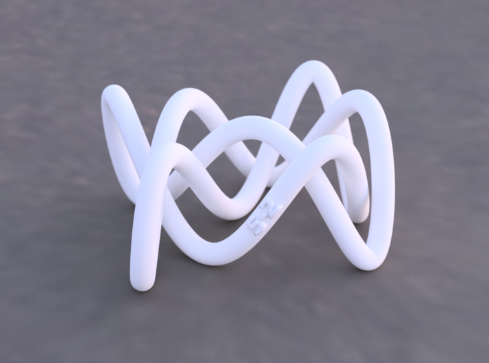 Knots in OpenSCAD with Sweeper - mathgrrl