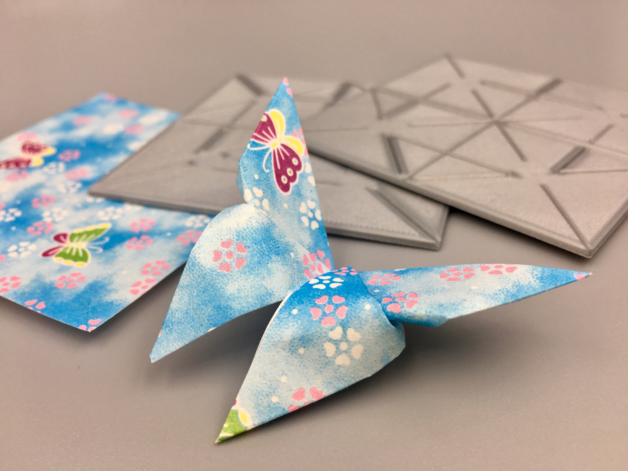 Refined easy origami butterfly | Origami butterfly easy, Origami ... | 1512x2016